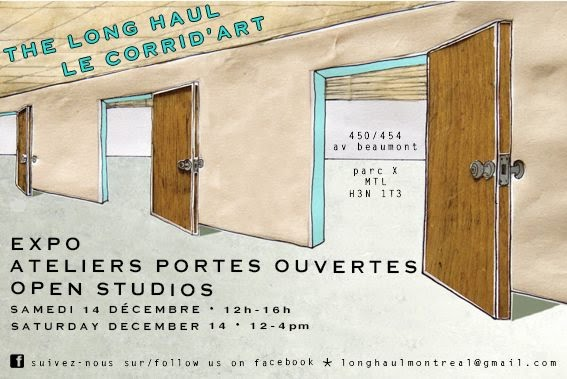 The Long Haul Art Studios / Les ateliers le Corrid'art
